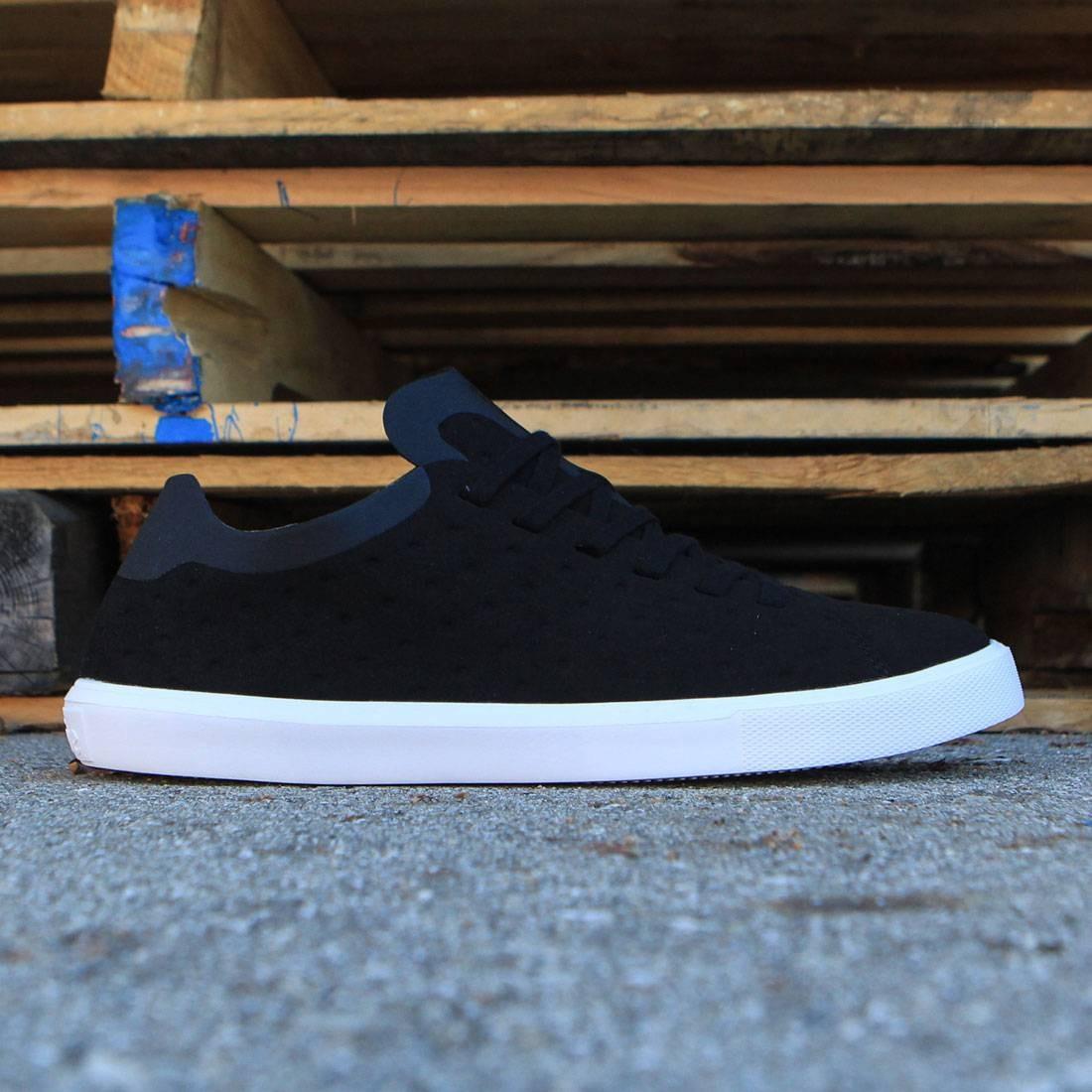 【海外限定】ネイティブ シェル スニーカー 靴 【 SHELL NATIVE MEN MONACO LOW BLACK JIFFY WHITE 】