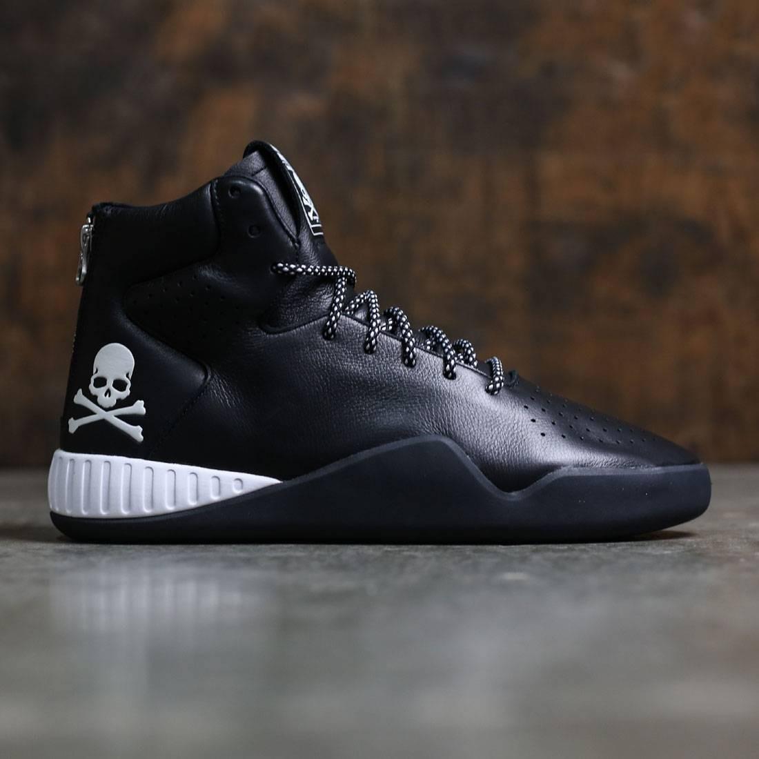 【海外限定】アディダス インスティンクト コア 黒 ブラック 靴 メンズ靴 【 ADIDAS BLACK CONSORTIUM X MASTERMIND JAPAN MEN TUBULAR INSTINCT CORE FOOTWEAR WHITE 】