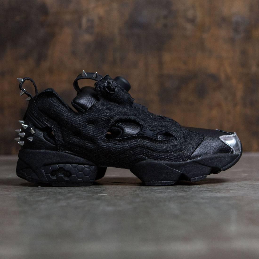 【海外限定】リーボック メンズ靴 靴 【 REEBOK MEN INSTAPUMP FURY OG HALLOWEEN BLACK SILIVER METALLIC 】