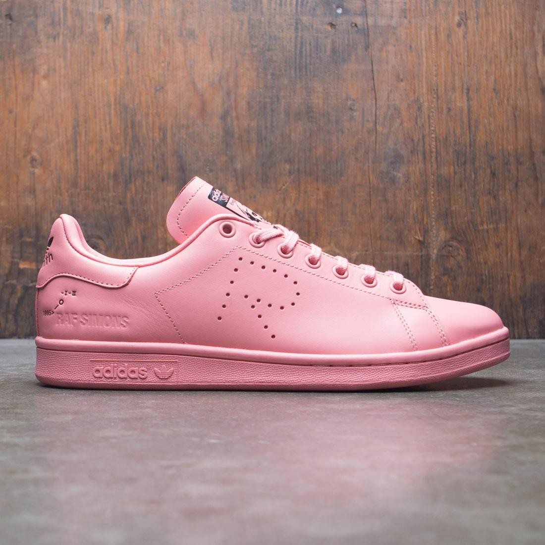 【海外限定】アディダス ローズ ピンク メンズ靴 靴 【 ADIDAS ROSE PINK RAF SIMONS MEN RS STAN SMITH TACTILE BLISS FOOTWEAR WHITE 】