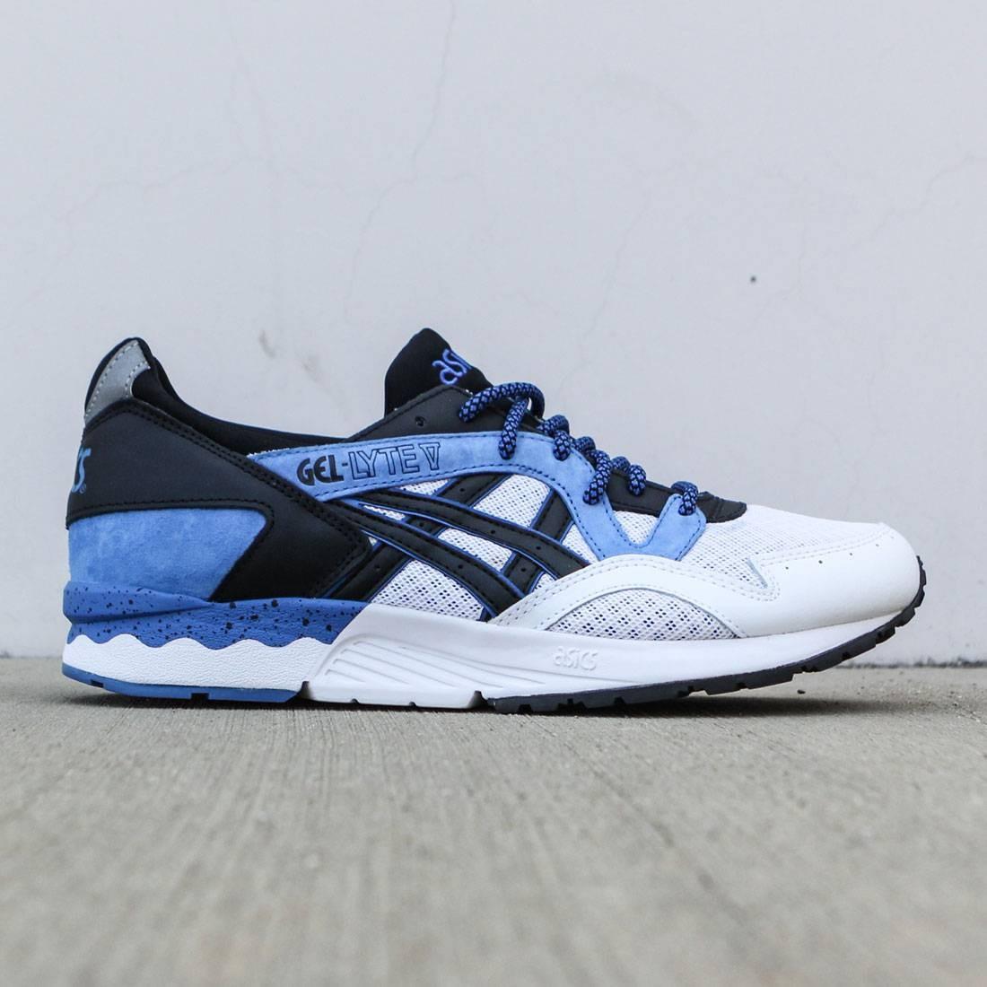【海外限定】アシックス クラシック 青 ブルー メンズ靴 靴 【 ASICS BLUE TIGER MEN GELLYTE V CLASSIC BLACK 】