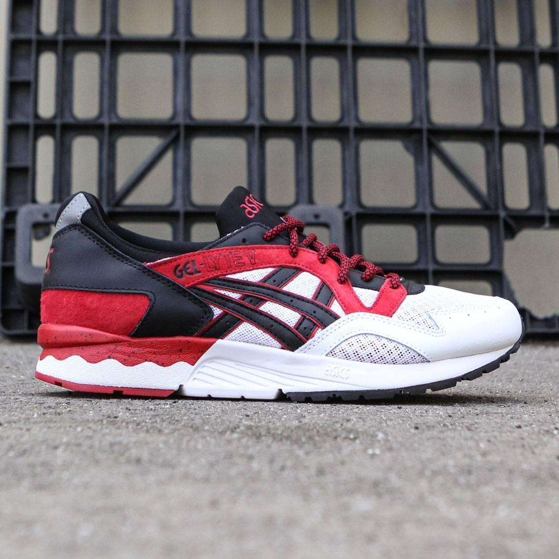 【海外限定】アシックス 靴 メンズ靴 【 ASICS TIGER MEN GELLYTE V RED BLACK 】