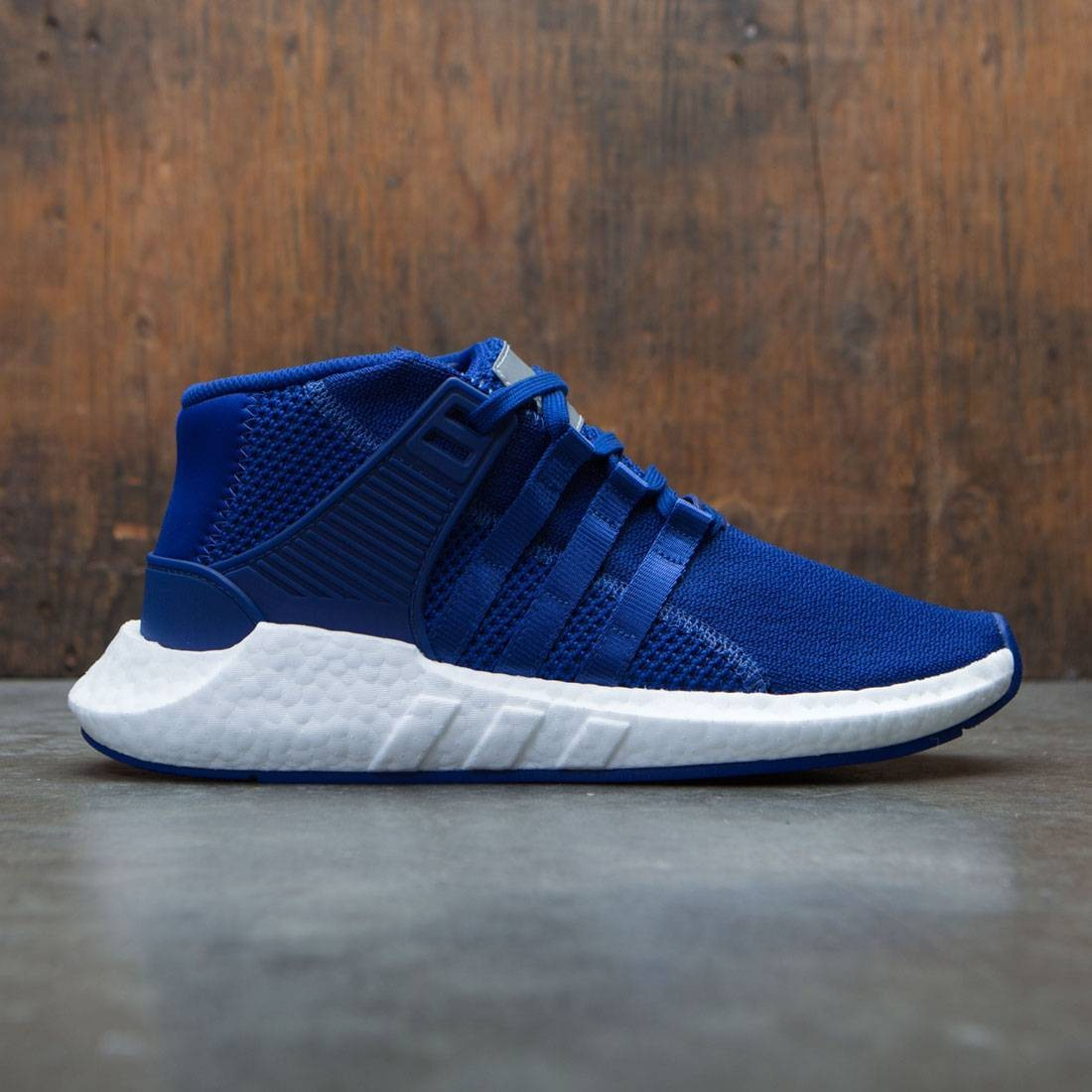 【海外限定】アディダス ミッド スニーカー メンズ靴 【 ADIDAS X MASTERMIND WORLD MEN EQT SUPPORT 93 17 MID BLUE MYSTERY INK FOOTWEAR WHITE 】