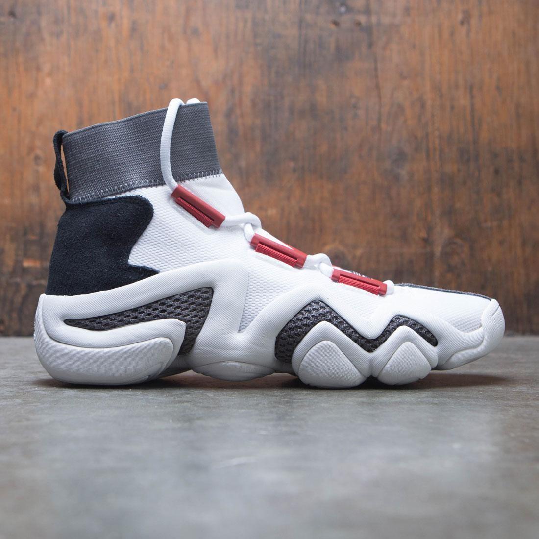 【海外限定】アディダス クレイジー コア 黒 ブラック 靴 メンズ靴 【 ADIDAS BLACK CONSORTIUM MEN CRAZY 8 A D WORKSHOP WHITE CORE RED 】