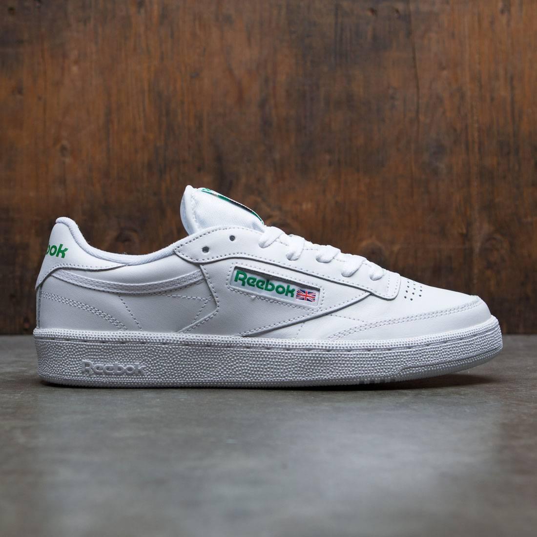 【海外限定】リーボック クラブ 靴 メンズ靴 【 REEBOK MEN CLUB C 85 WHITE GREEN 】
