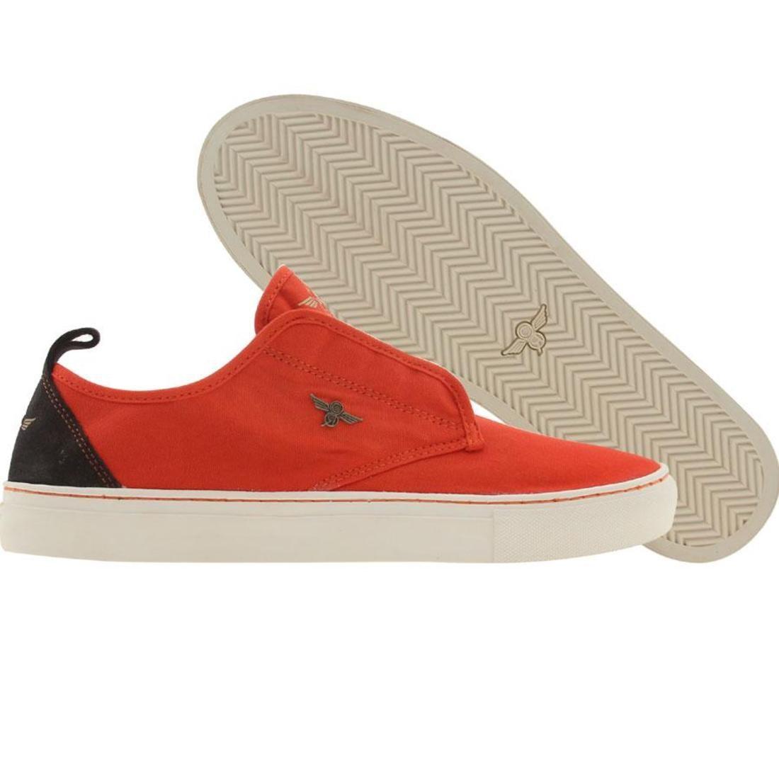 【海外限定】スニーカー 靴 【 CREATIVE RECREATION LACAVA RED 】
