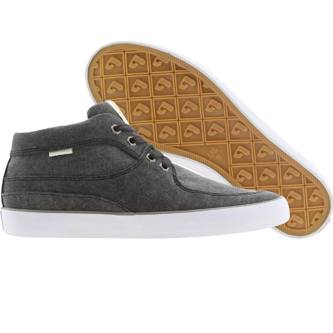 【海外限定】黒 ブラック 靴 メンズ靴 【 BLACK POINTER MEN MATHIESON WASHED WHITE 】