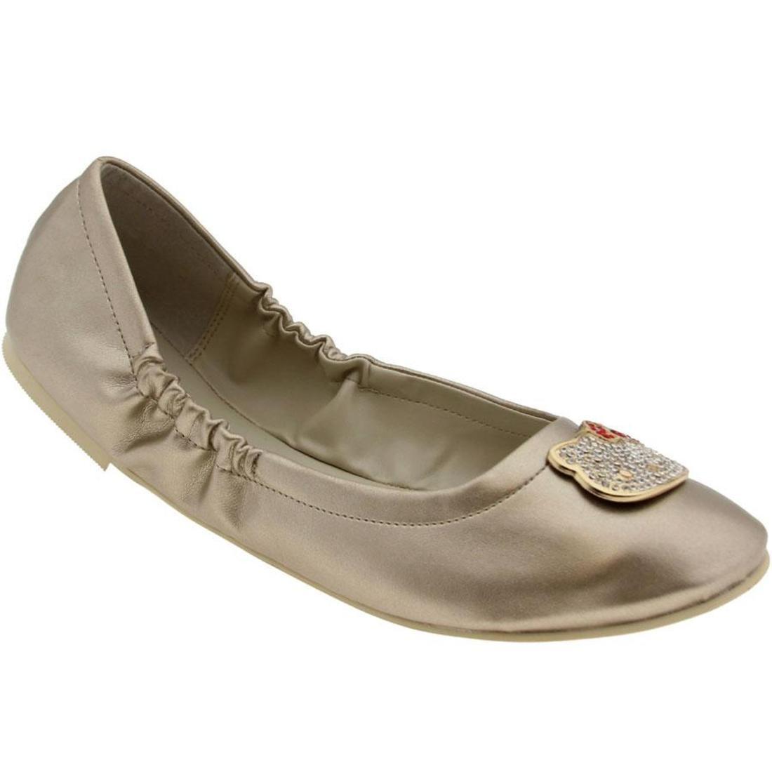 【海外限定】レディース 靴 レディース靴 【 HELLO KITTY WOMENS SOFIA GOLD 】