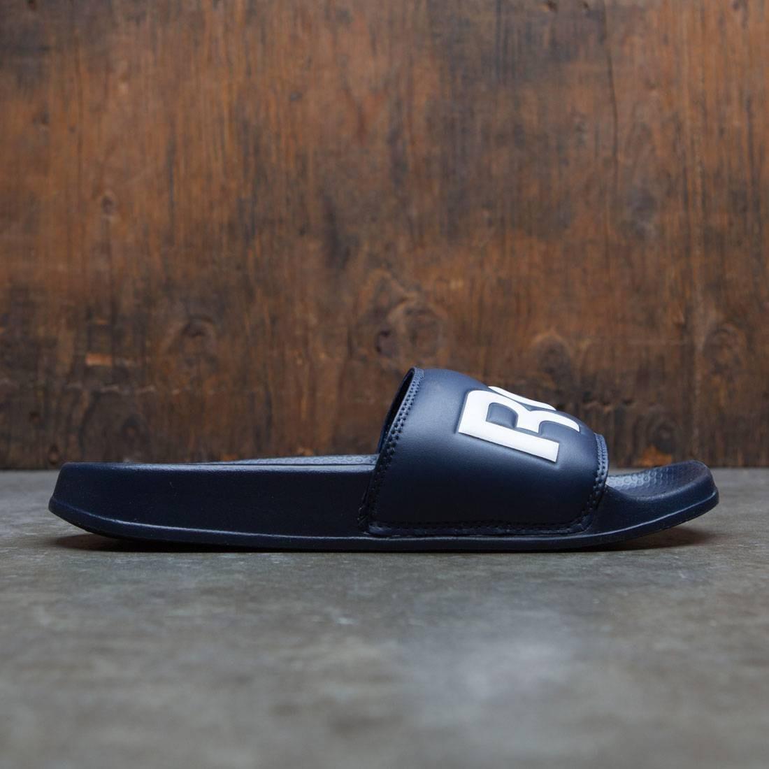 【海外限定】リーボック クラシック サンダル 紺 ネイビー 靴 メンズ靴 【 REEBOK SLIDE NAVY MEN CLASSIC COLLEGIATE WHITE 】