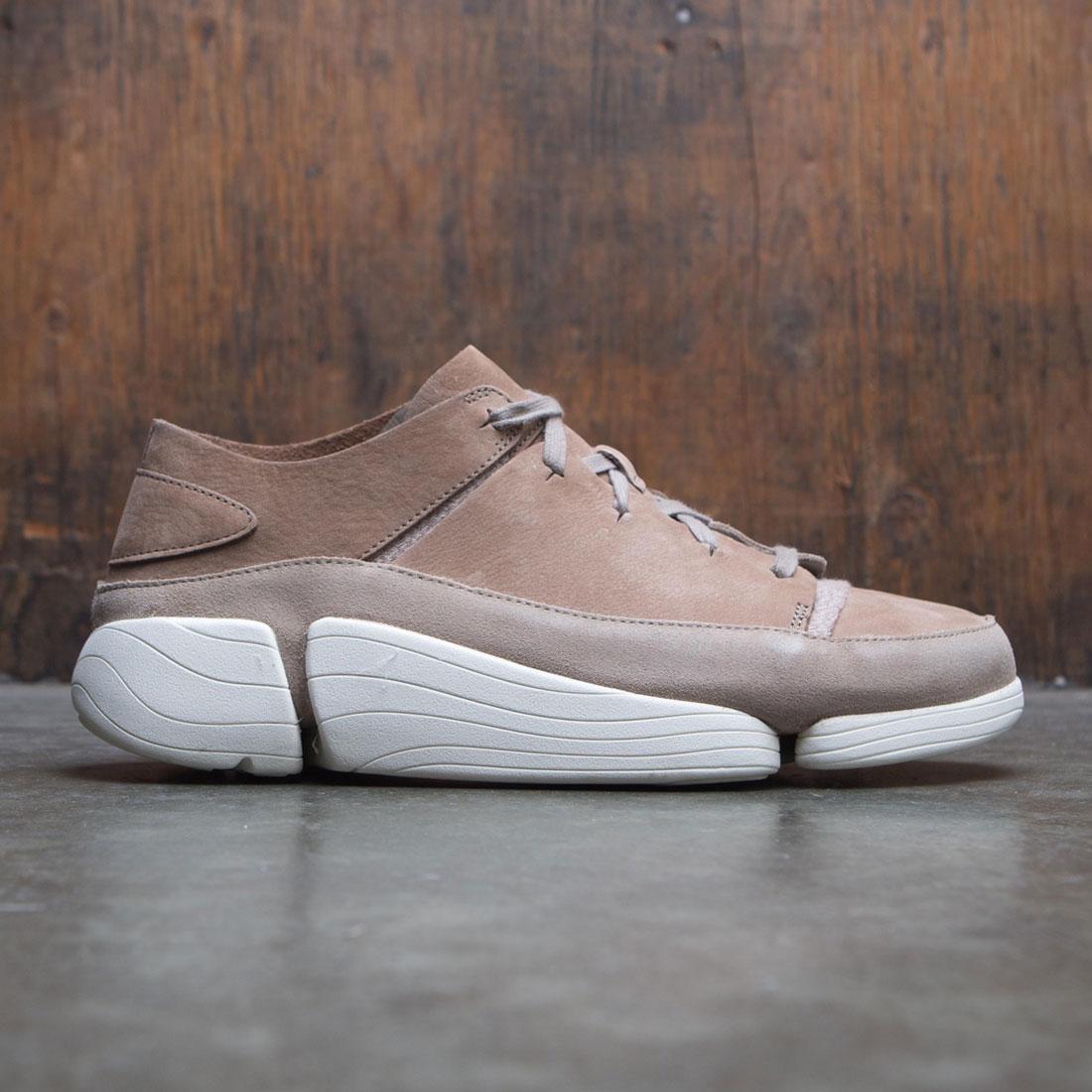 【海外限定】クラークス 砂色 サンド スニーカー 靴 【 CLARKS MEN TRIGENIC EVO SAND BROWN 】