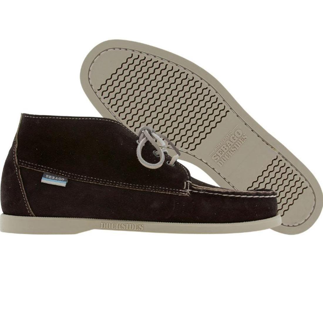 【海外限定】メンズ靴 スニーカー 【 SEBAGO WATERBURY BLACK BEIGE SUEDE 】