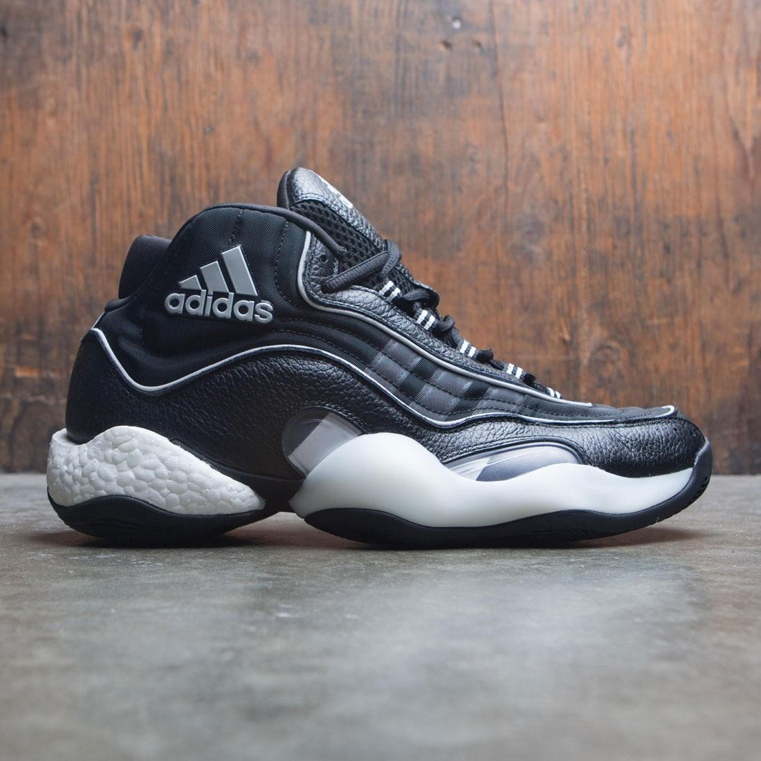 【海外限定】アディダス クレイジー GRAY灰色 グレイ コア スニーカー メンズ靴 【 ADIDAS GREY MEN 98 X CRAZY BYW BLACK TWO CORE WHITE 】