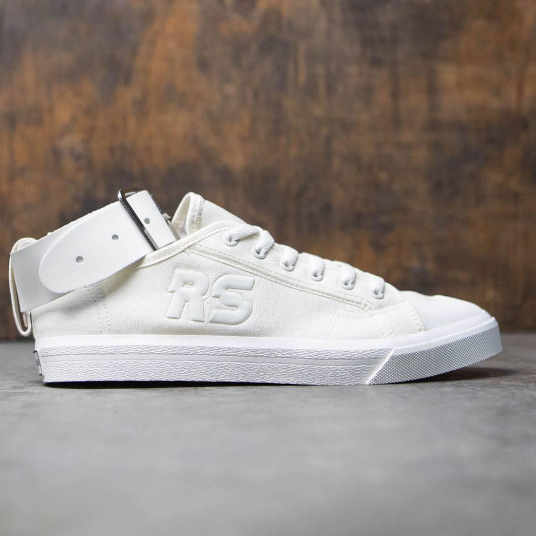 【海外限定】アディダス バックル 白 ホワイト メンズ靴 靴 【 ADIDAS WHITE X RAF SIMONS MEN SPIRIT BUCKLE OFF BLACK 】