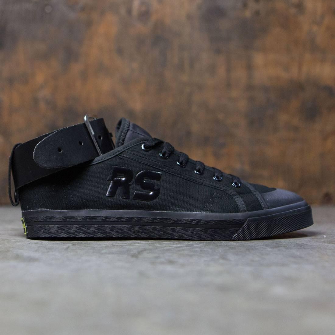 【海外限定】アディダス バックル コア 黒 ブラック 靴 メンズ靴 【 ADIDAS BLACK X RAF SIMONS MEN SPIRIT BUCKLE CORE BRIGHT YELLOW 】