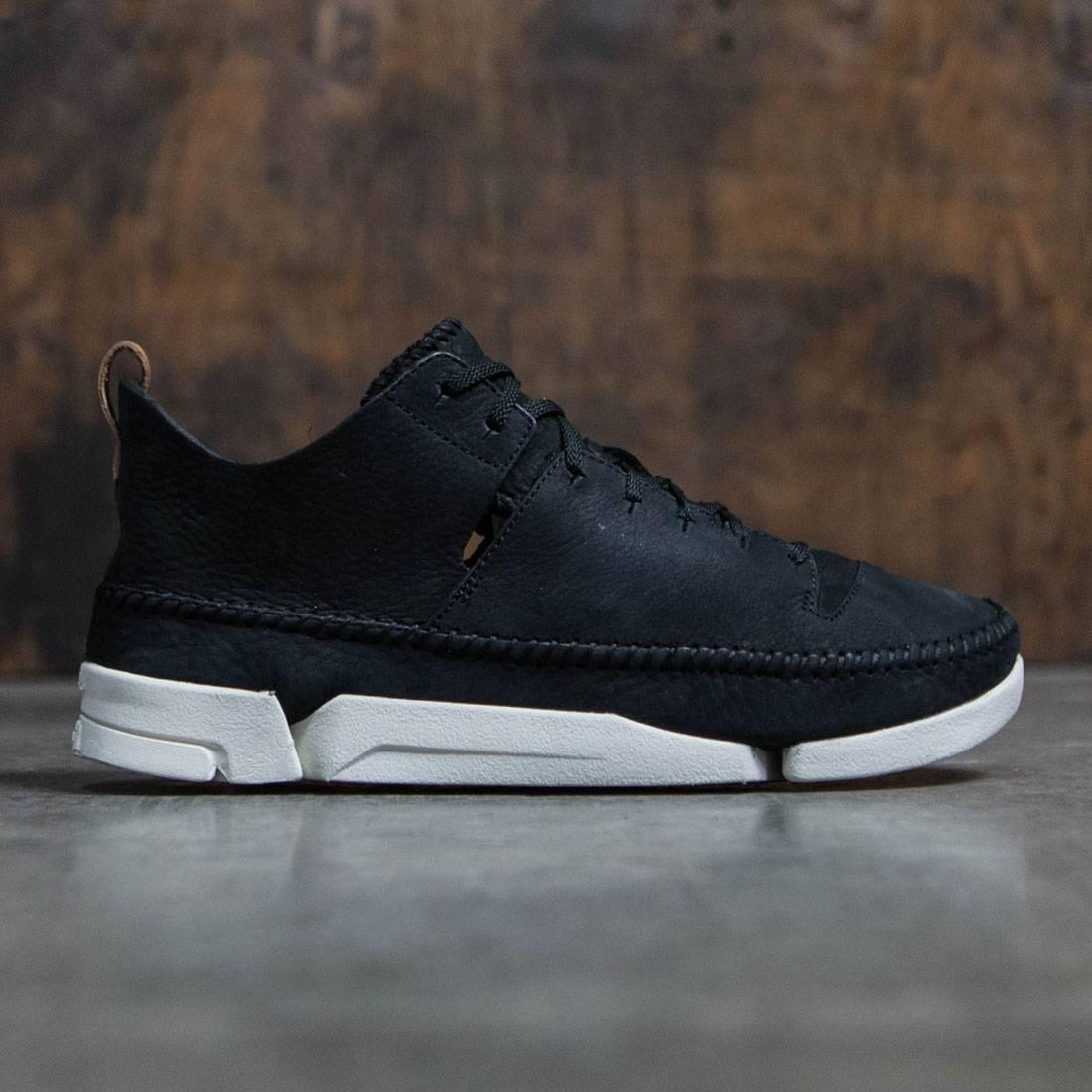 【海外限定】クラークス スニーカー 靴 【 CLARKS MEN TRIGENIX FLEX BLACK NUBUCK 】