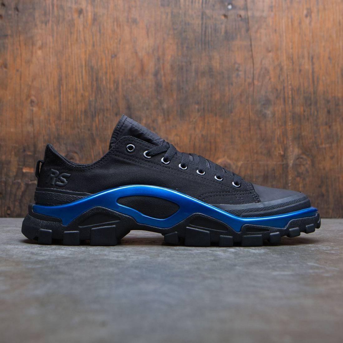 【海外限定】アディダス コア 黒 ブラック メンズ靴 スニーカー 【 ADIDAS BLACK X RAF SIMONS MEN NEW RUNNER CORE ELECTRIC BLUE 】