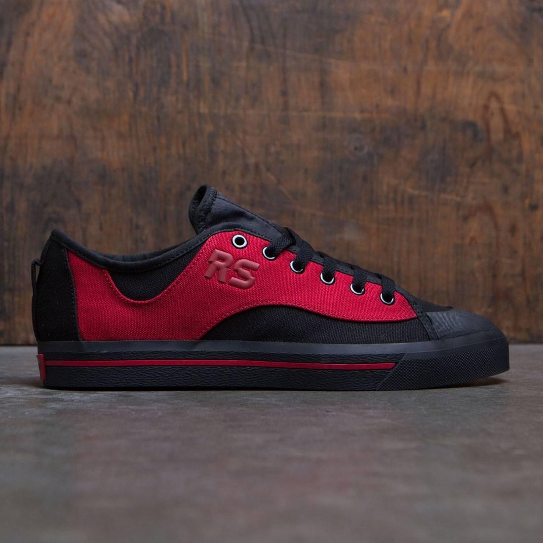 【海外限定】アディダス パワー 赤 レッド コア スニーカー メンズ靴 【 ADIDAS POWER RED X RAF SIMONS MEN SPIRIT V BLACK CORE 】