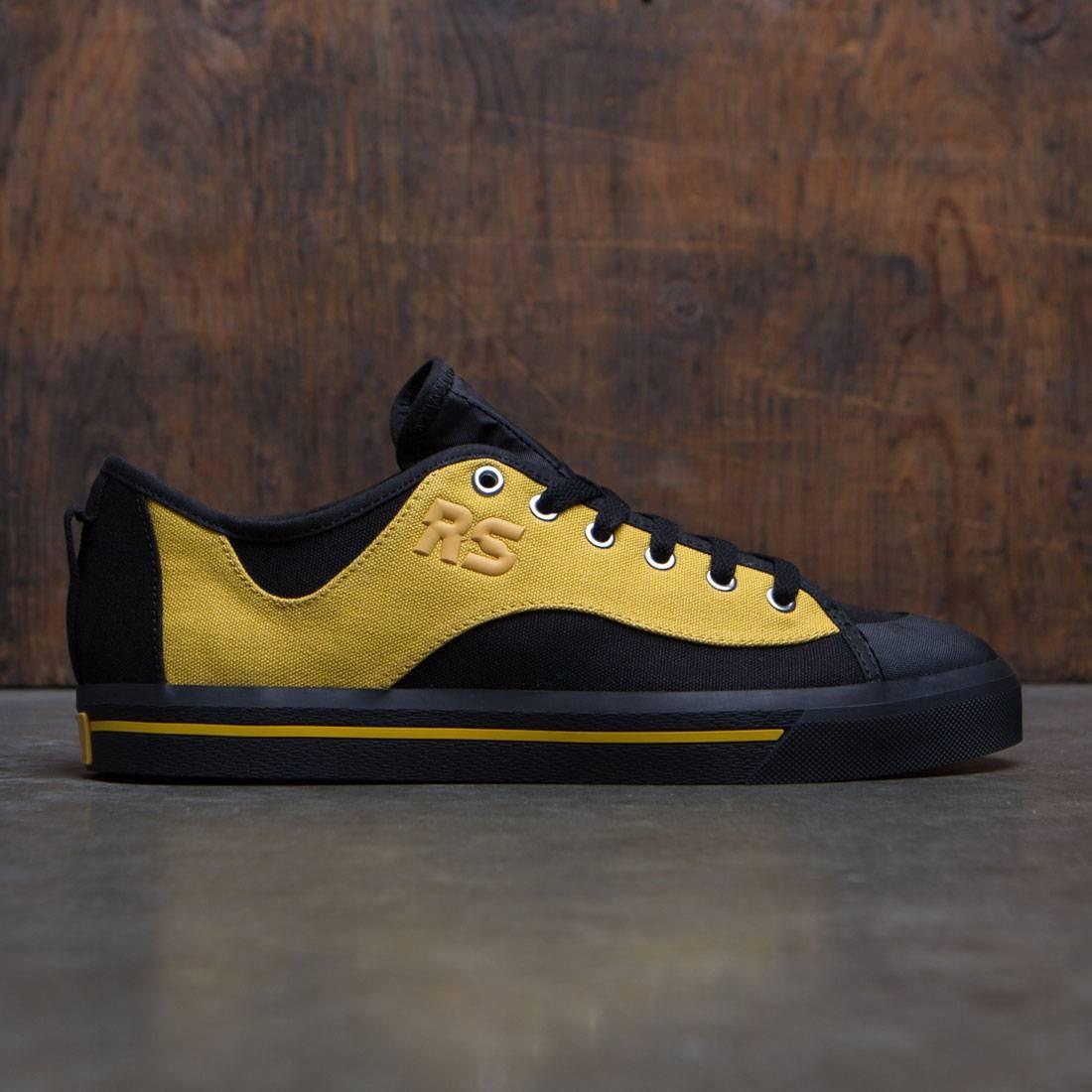 【海外限定】アディダス 黄色 イエロー コア スニーカー メンズ靴 【 ADIDAS YELLOW X RAF SIMONS MEN SPIRIT V BLACK CORN CORE 】