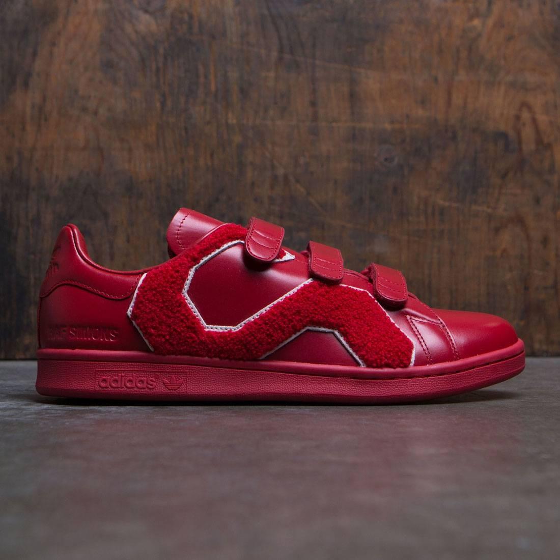 【海外限定】アディダス パワー メンズ靴 スニーカー 【 ADIDAS POWER X RAF SIMONS MEN STAN SMITH COMFORT BADGE RED 】