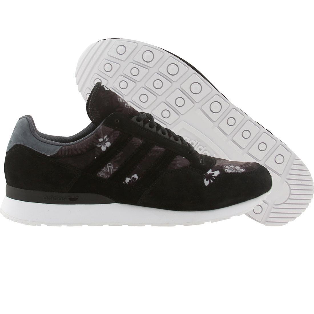 【海外限定】アディダス スニーカー メンズ靴 【 ADIDAS MEN ZX 500 HAWAIIAN BLACK LEAD RUNNINWHITE 】