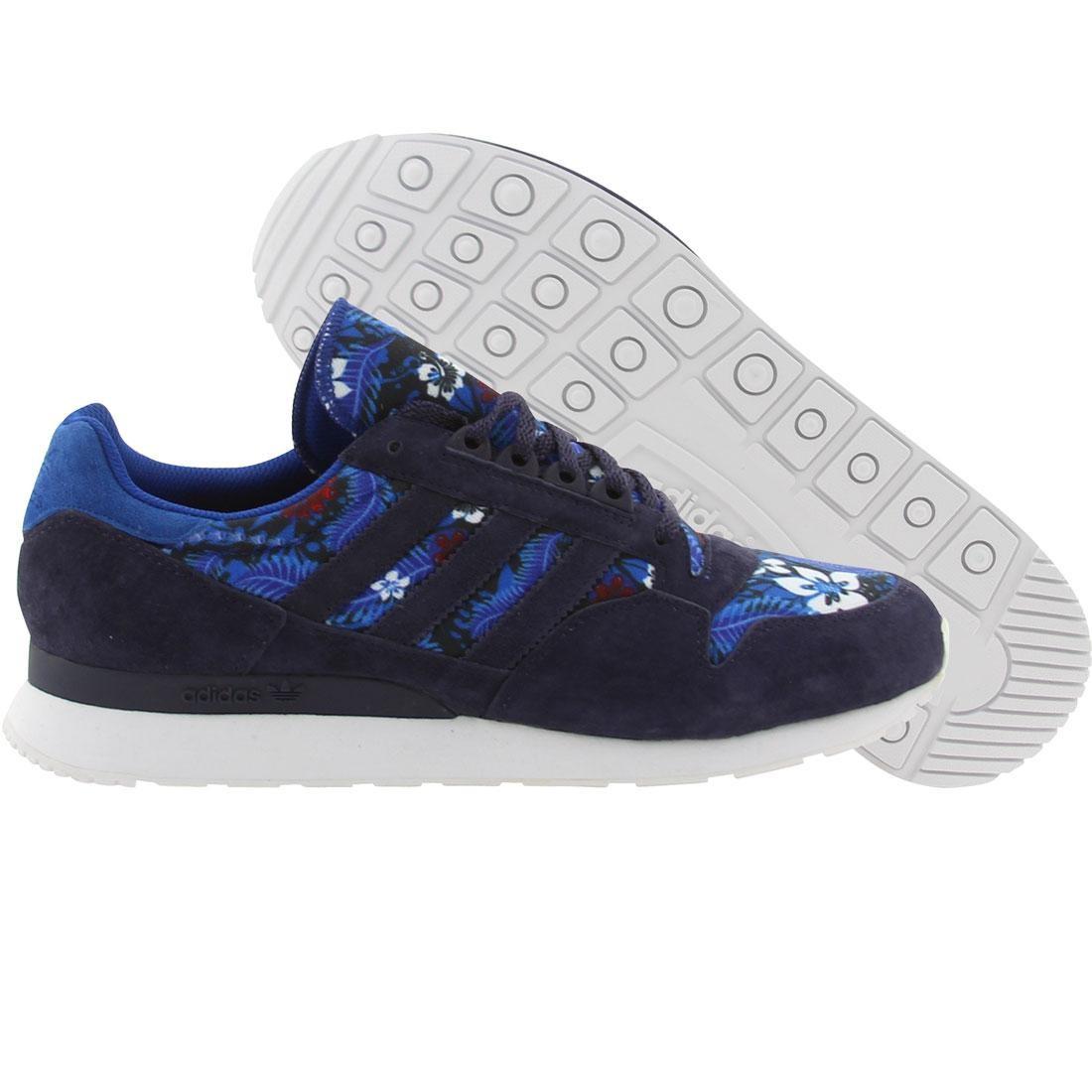 【海外限定】アディダス スニーカー メンズ靴 【 ADIDAS MEN ZX 500 HAWAIIAN BLUE TRUBLU MARINE RUNNINWHITE 】