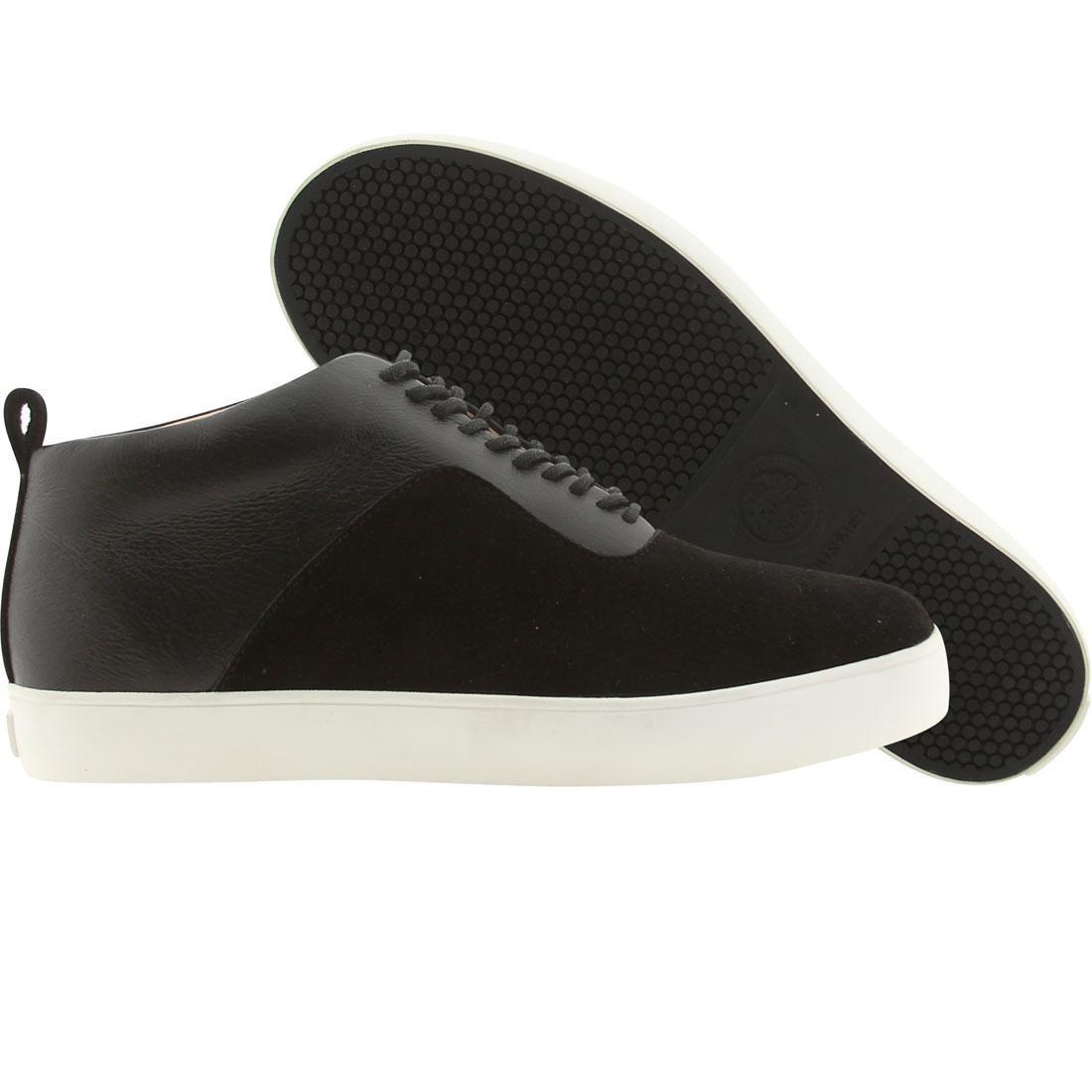 【海外限定】グルメ スニーカー メンズ靴 【 GOURMET THE 24 L BLACK WHITE 】