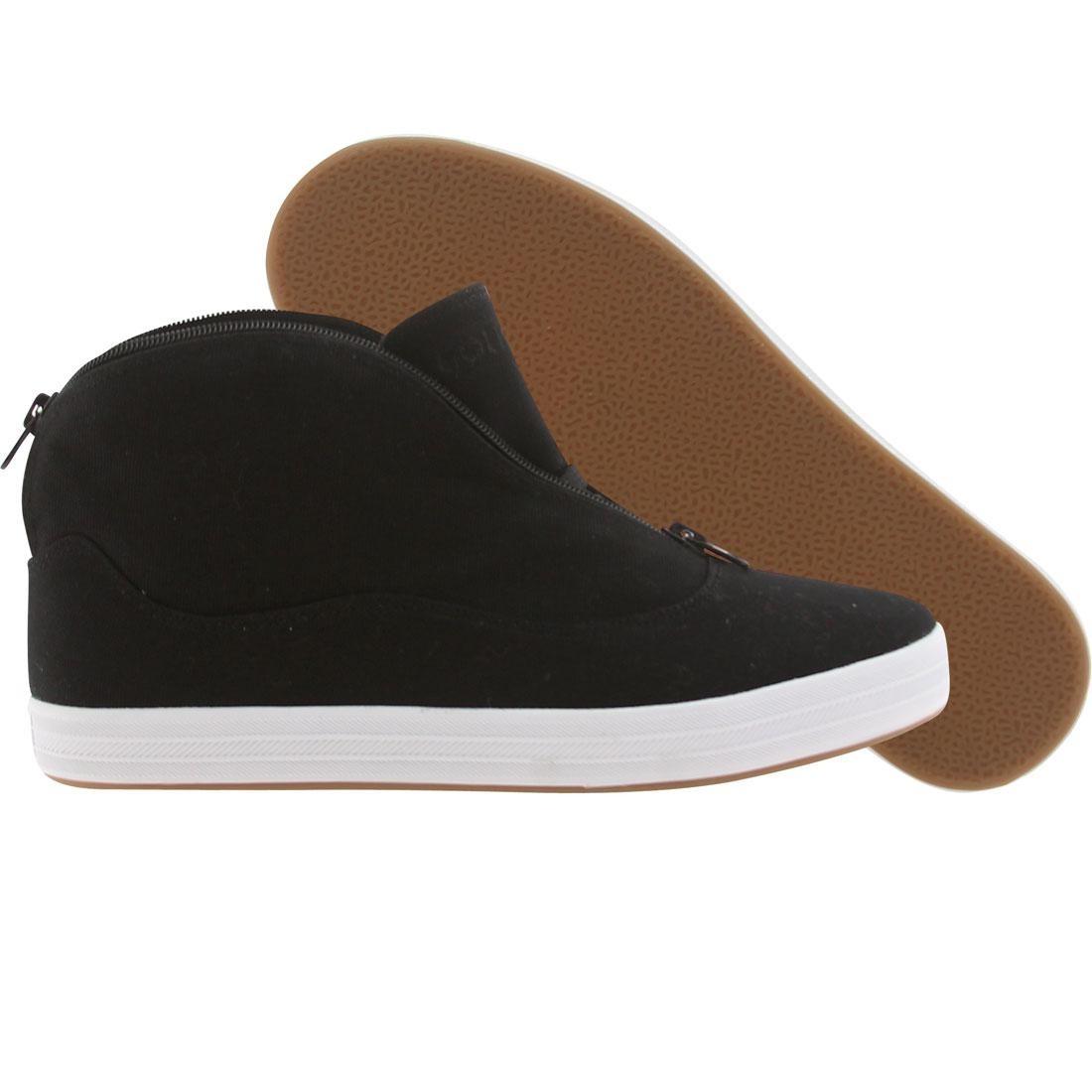 【海外限定】グルメ L'DUE メンズ靴 靴 【 GOURMET CANVAS BLACK WHITE 】