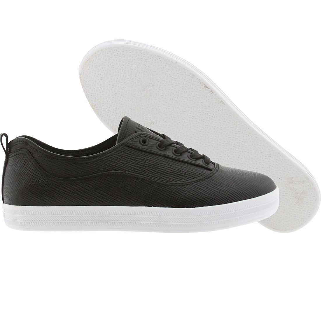 【海外限定】グルメ レザー L'TRE スニーカー メンズ靴 【 GOURMET EPI LEATHER PACK BLACK WHITE 】