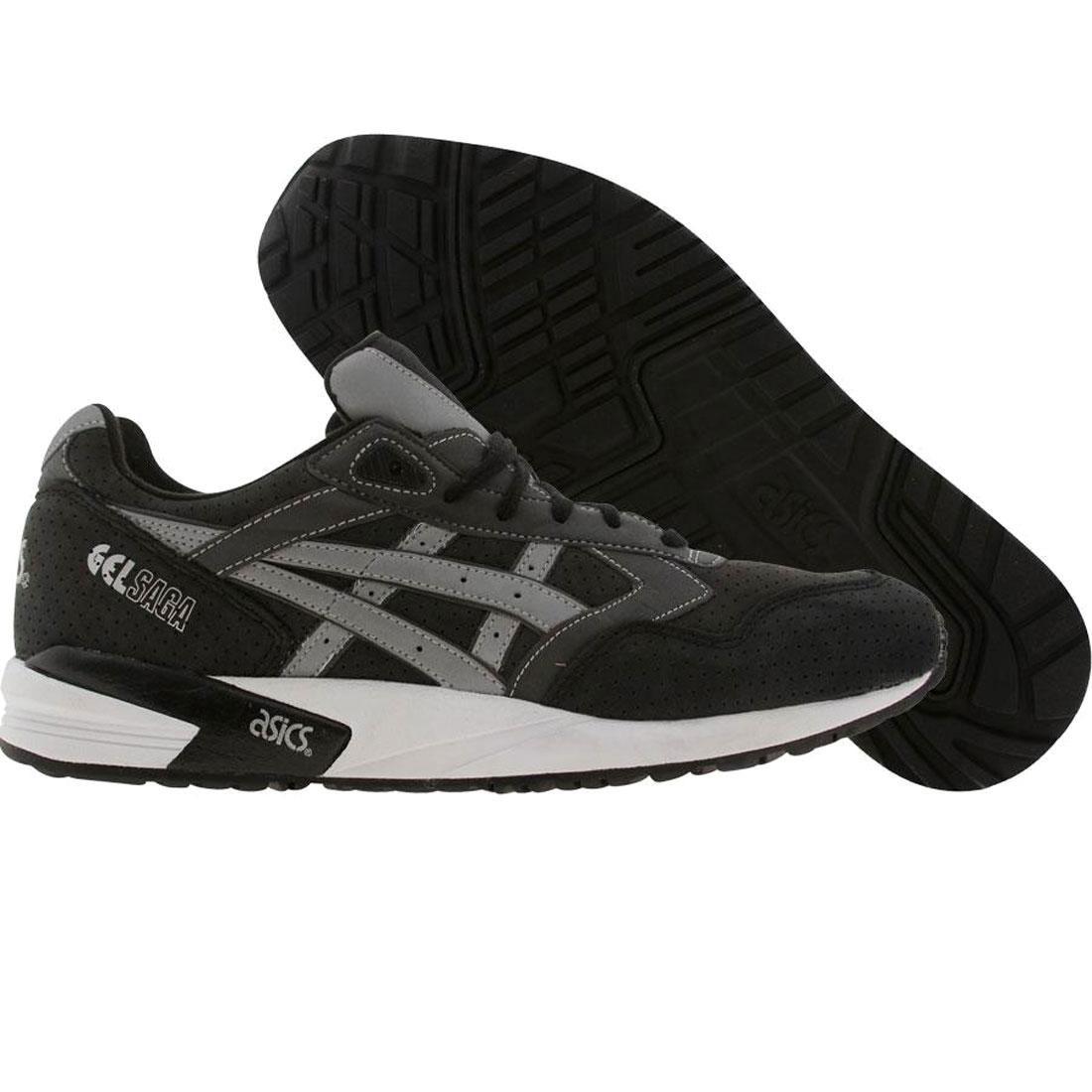 【海外限定】アシックス プレミアム 黒 ブラック メンズ靴 靴 【 ASICS PREMIUM BLACK BAIT X TIGER GELSAGA 3M RINGS PACK RING GREY 】