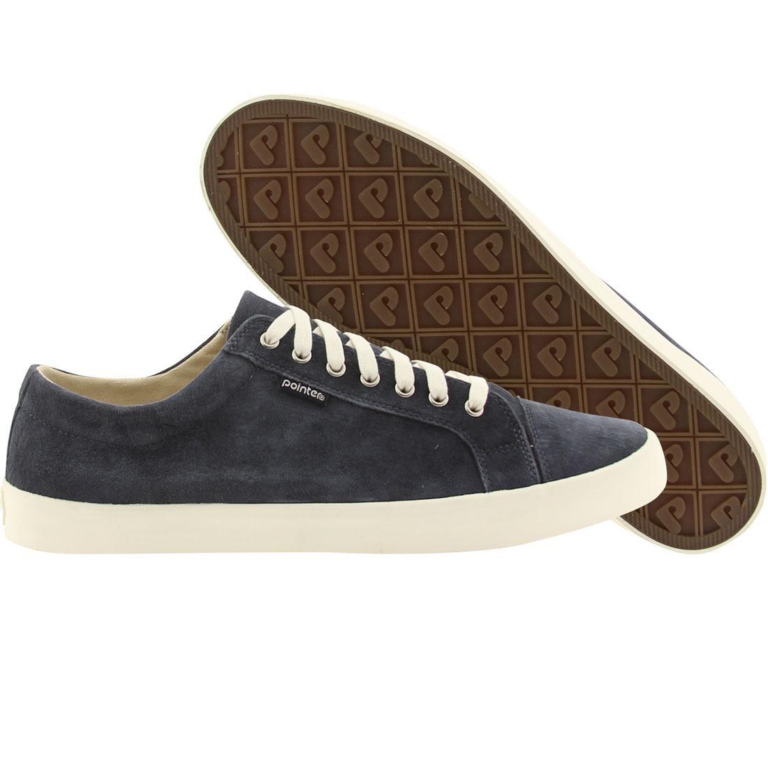 【海外限定】スエード スウェード メンズ靴 靴 【 POINTER MEN SEEKER SUEDE NAVY WHITE 】
