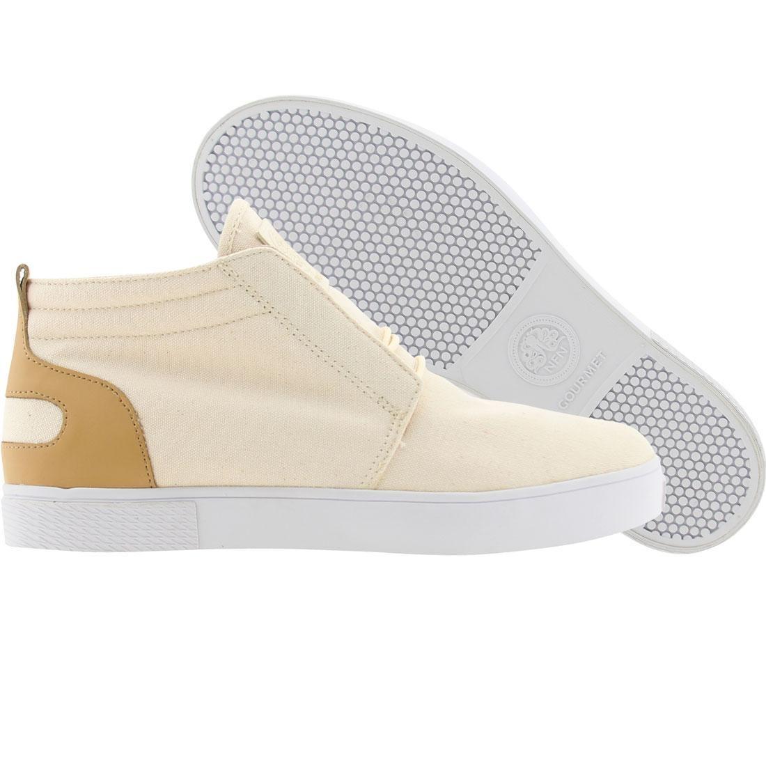 【海外限定】グルメ スニーカー 靴 【 GOURMET SEDICI NATURAL WHITE 】