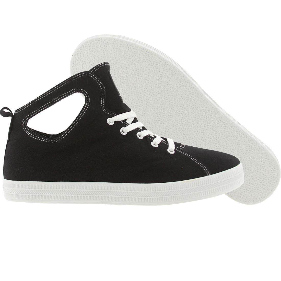 【海外限定】グルメ 靴 スニーカー 【 GOURMET UNO CANVAS BLACK WHITE 】