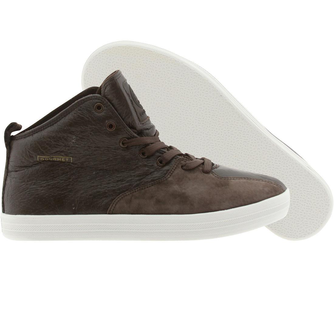 【海外限定】グルメ スケート メンズ靴 靴 【 SKATE GOURMET QUATTRO L BROWN WHITE 】