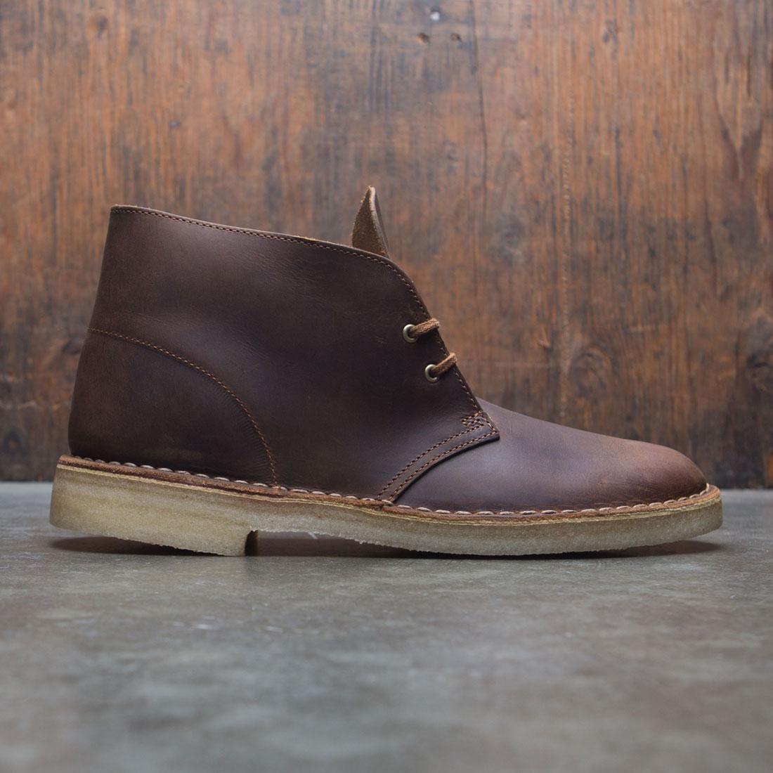 【海外限定】クラークス ブーツ スニーカー メンズ靴 【 CLARKS MEN DESERT BOOT BROWN BEESWAX 】