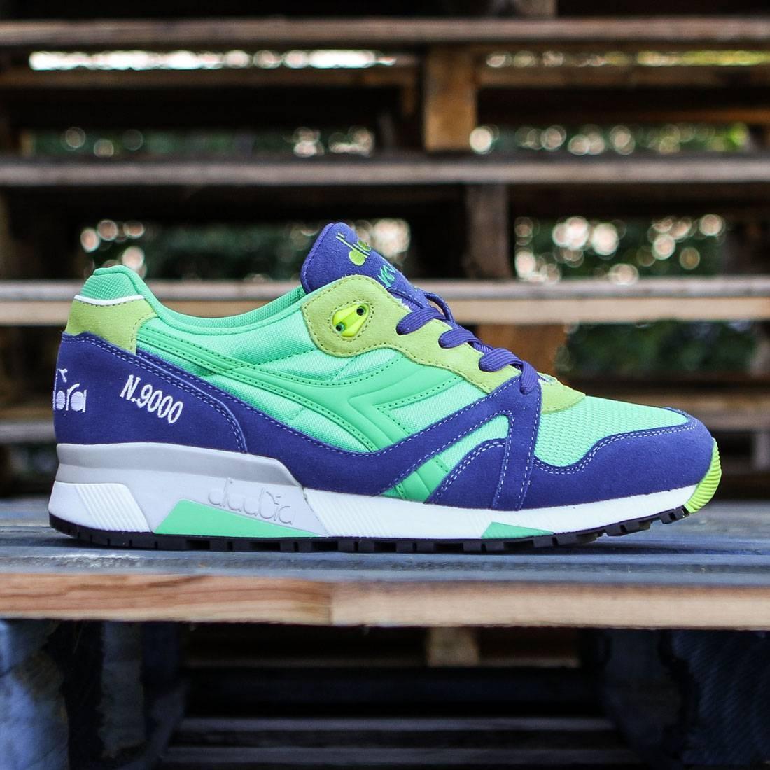 【海外限定】メンズ靴 スニーカー 【 DIADORA MEN N9000 NYL GREEN BLUE 】