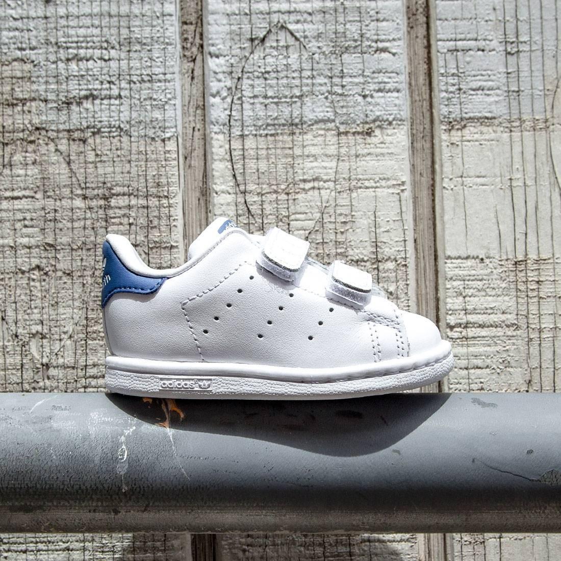 【海外限定】アディダス 靴 メンズ靴 【 ADIDAS TODDLERS STAN SMITH CF WHITE EQT BLUE 】