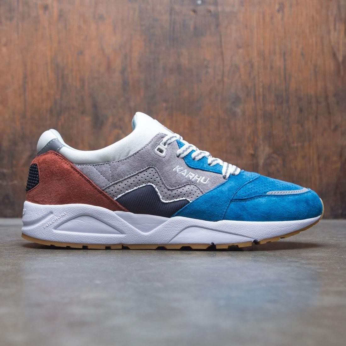 【海外限定】メンズ靴 スニーカー 【 KARHU MEN ARIA BURNT OCHRE BLUE MYKONOS 】