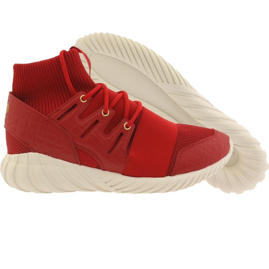 【海外限定】アディダス パワー 赤 レッド メンズ靴 靴 【 ADIDAS POWER RED MEN TUBULAR DOOM CNY GOLD METALLIC 】