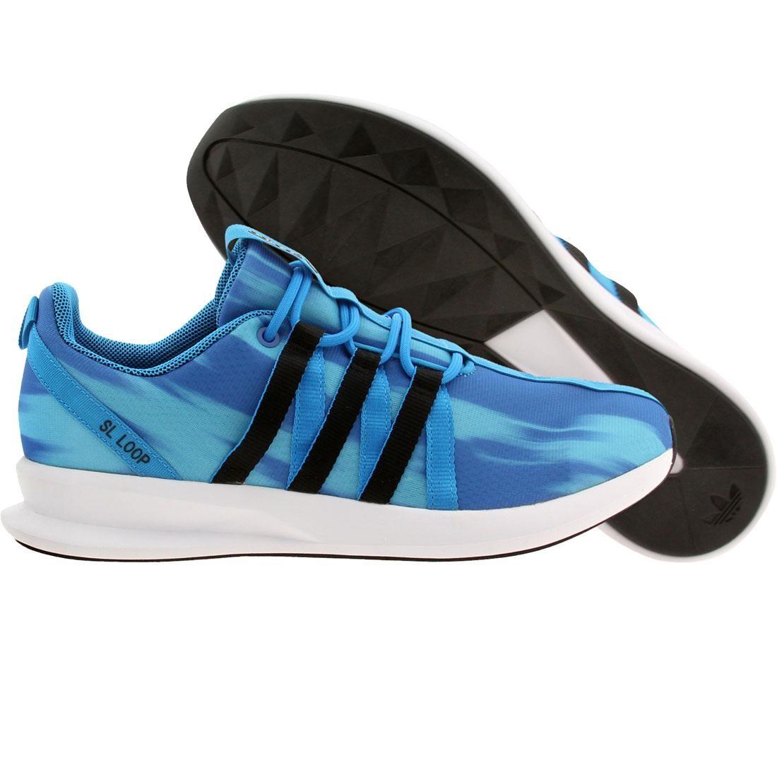 【海外限定】アディダス メンズ靴 靴 【 ADIDAS MEN SL LOOP RACER BLUE SOLBLU CBLACK 】