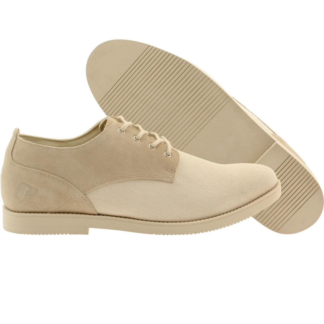 【海外限定】スエード スウェード メンズ靴 靴 【 POINTER MEN SURFER ROSA SUEDE WHITE IVORY 】