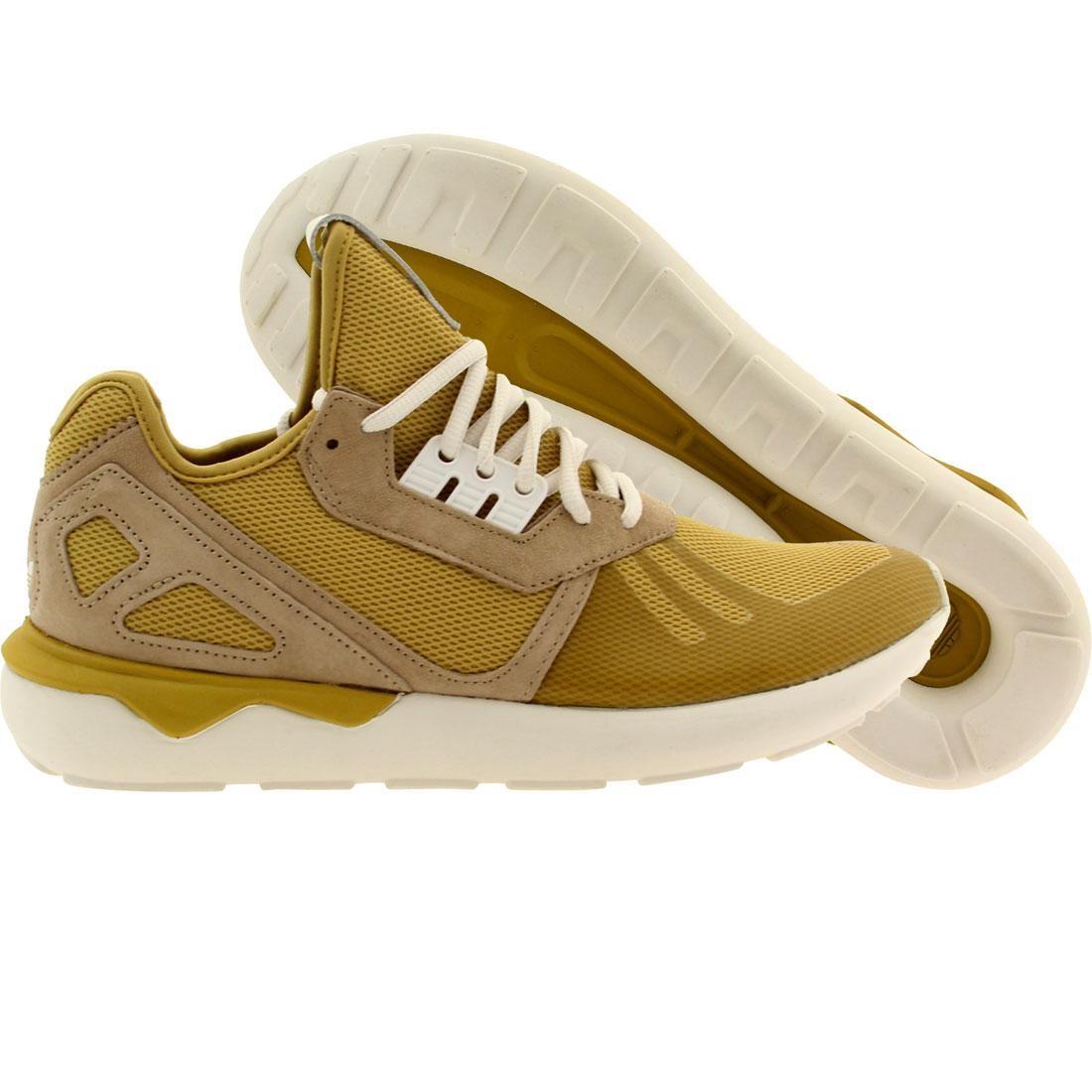 【海外限定】アディダス 靴 メンズ靴 【 ADIDAS MEN TUBULAR RUNNER YELLOW SPIYEL HEMP WHITE 】