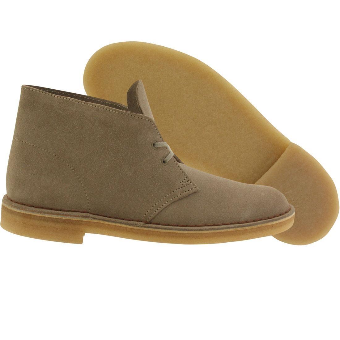 【海外限定】クラークス ブーツ 砂色 サンド メンズ靴 靴 【 CLARKS MEN DESERT BOOT TAN SAND SUEDE 】