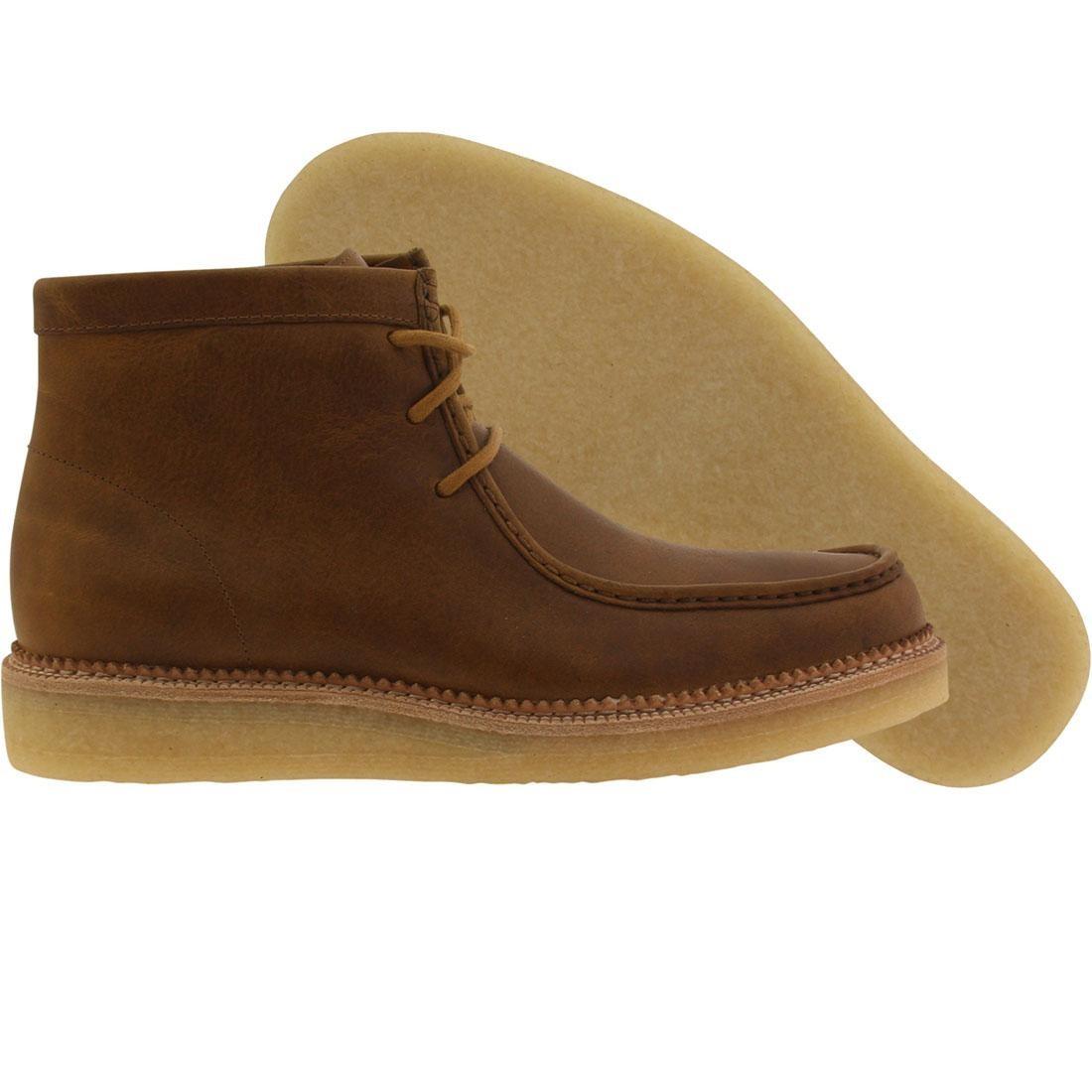 【海外限定】クラークス 茶 ブラウン 靴 スニーカー 【 BROWN CLARKS MEN BECKERY HIKE BRONZE LEATHER 】