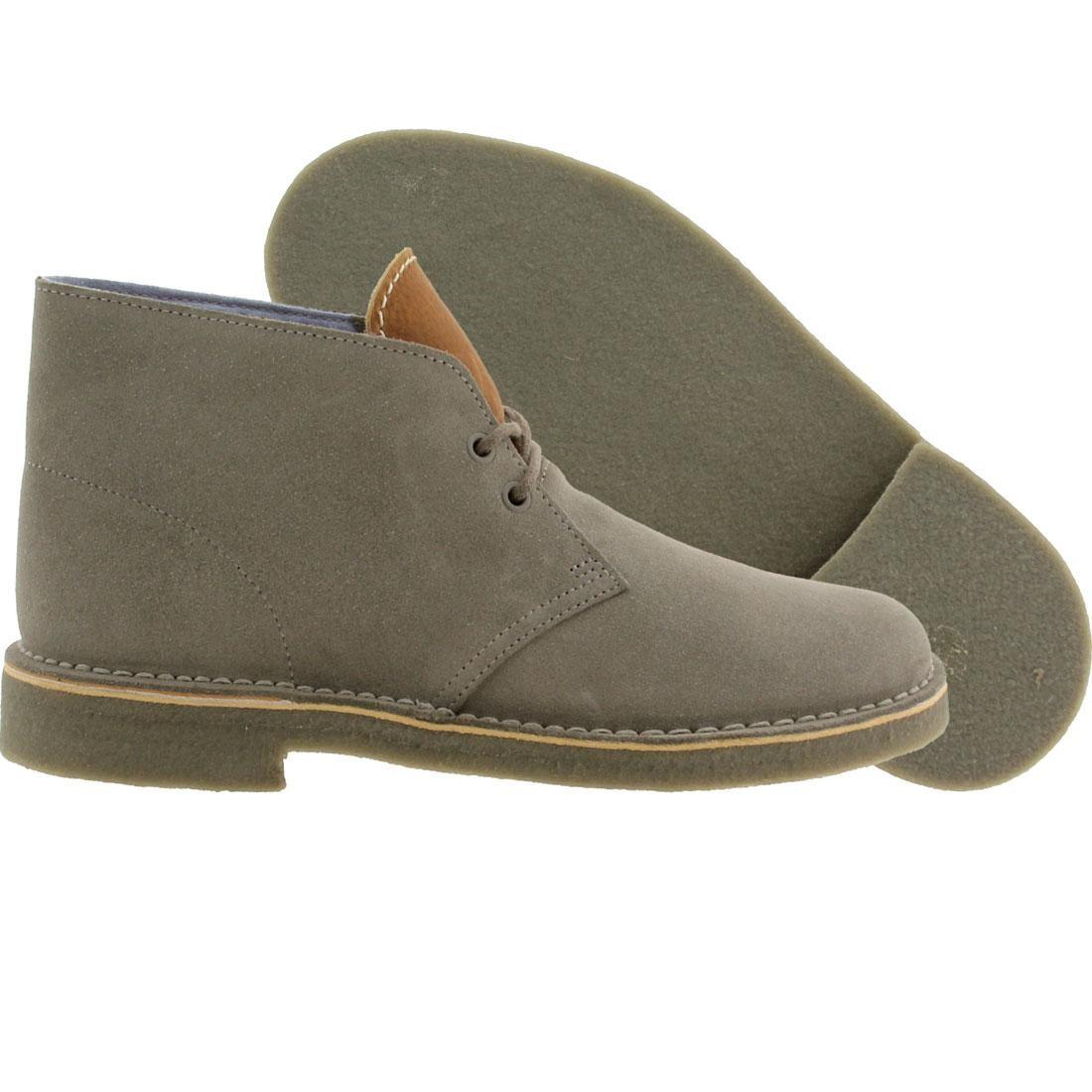 【海外限定】クラークス サプライ メンズ靴 靴 【 SUPPLY CLARKS X HERSCHEL CO MEN DESERT BOOTS GRAY SUEDE 】【送料無料】