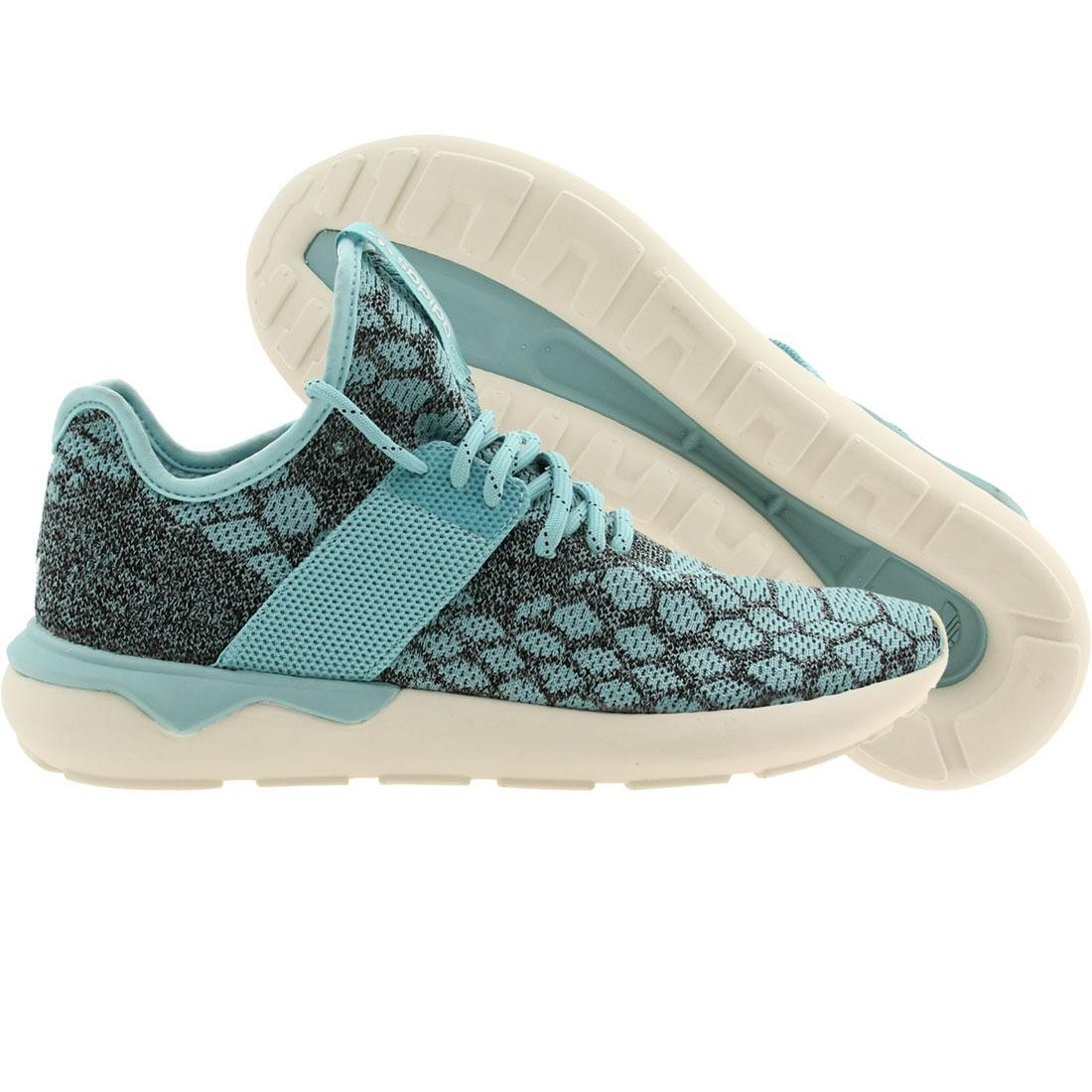 【海外限定】アディダス ニット スニーカー メンズ靴 【 ADIDAS MEN TUBULAR RUNNER PRIME KNIT BLUE CBLACK 】