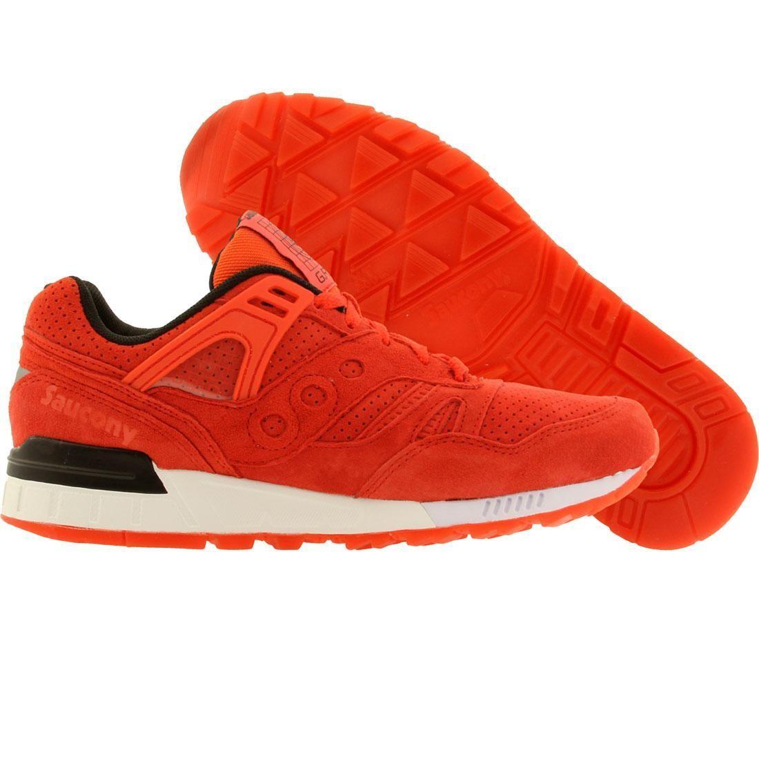 【海外限定】サッカニー スニーカー メンズ靴 【 SAUCONY MEN GRID SD NO CHILL PACK RED 】
