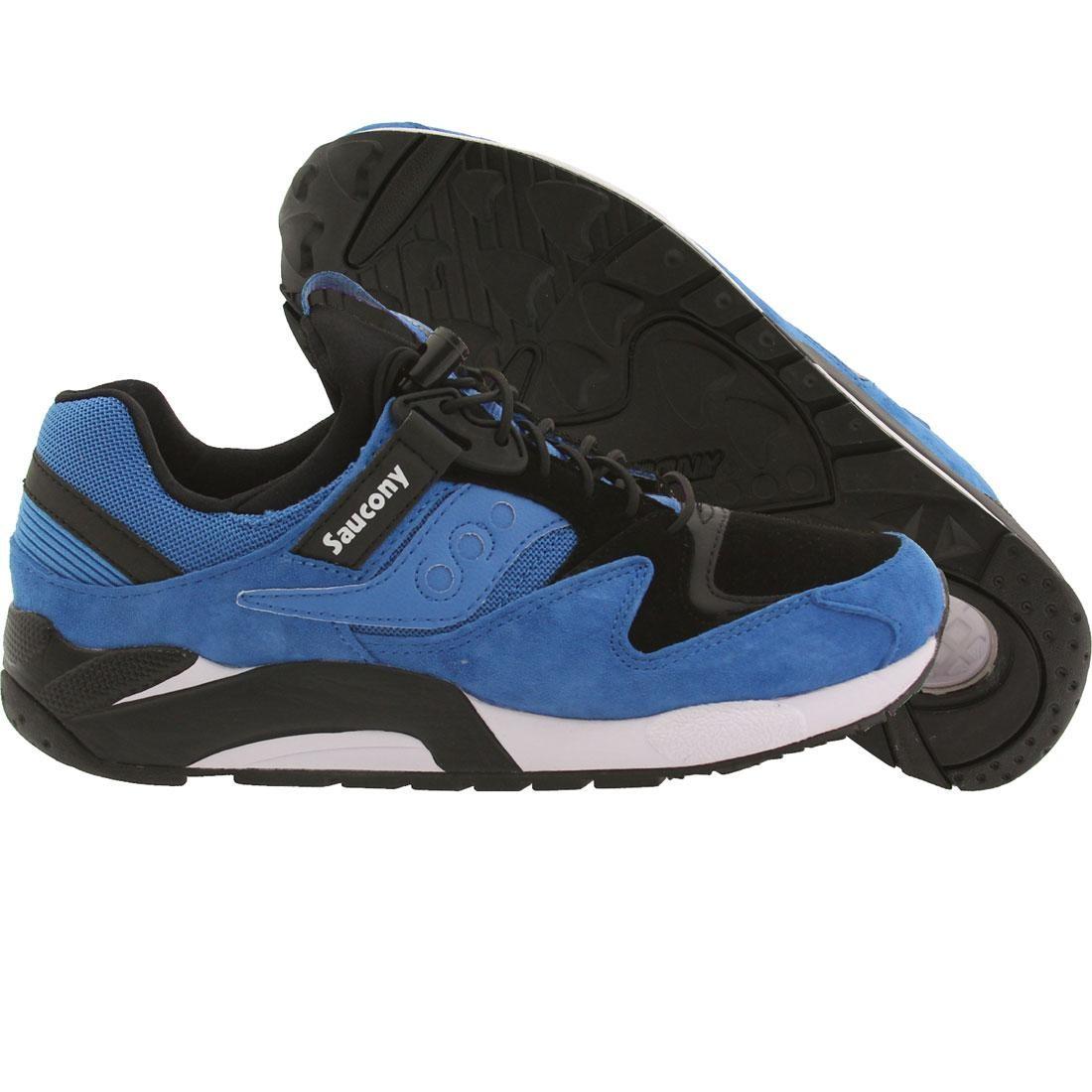 【海外限定】サッカニー 靴 スニーカー 【 SAUCONY MEN GRID 9000 BLUE BLACK 】