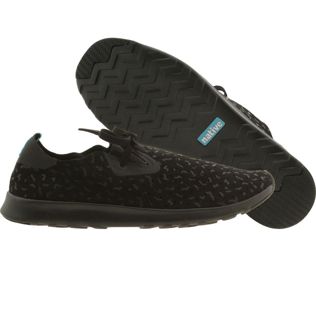 【海外限定】ネイティブ 靴 スニーカー 【 NATIVE MEN APOLLO MOC BLACK JIFFY BIOTIC 】