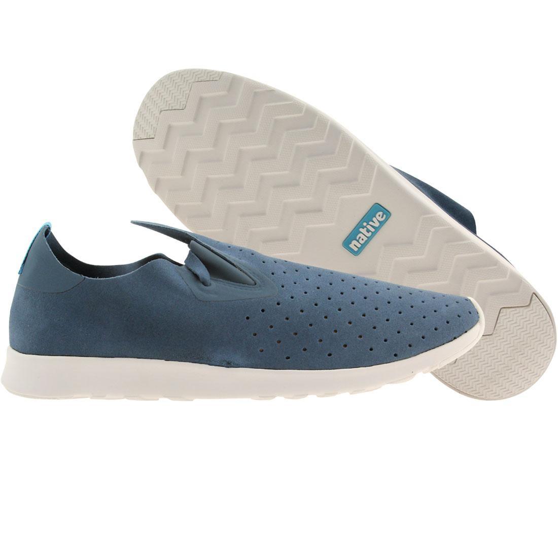 【海外限定】ネイティブ シェル 靴 スニーカー 【 SHELL NATIVE MEN APOLLO MOC BLUE WHITE 】