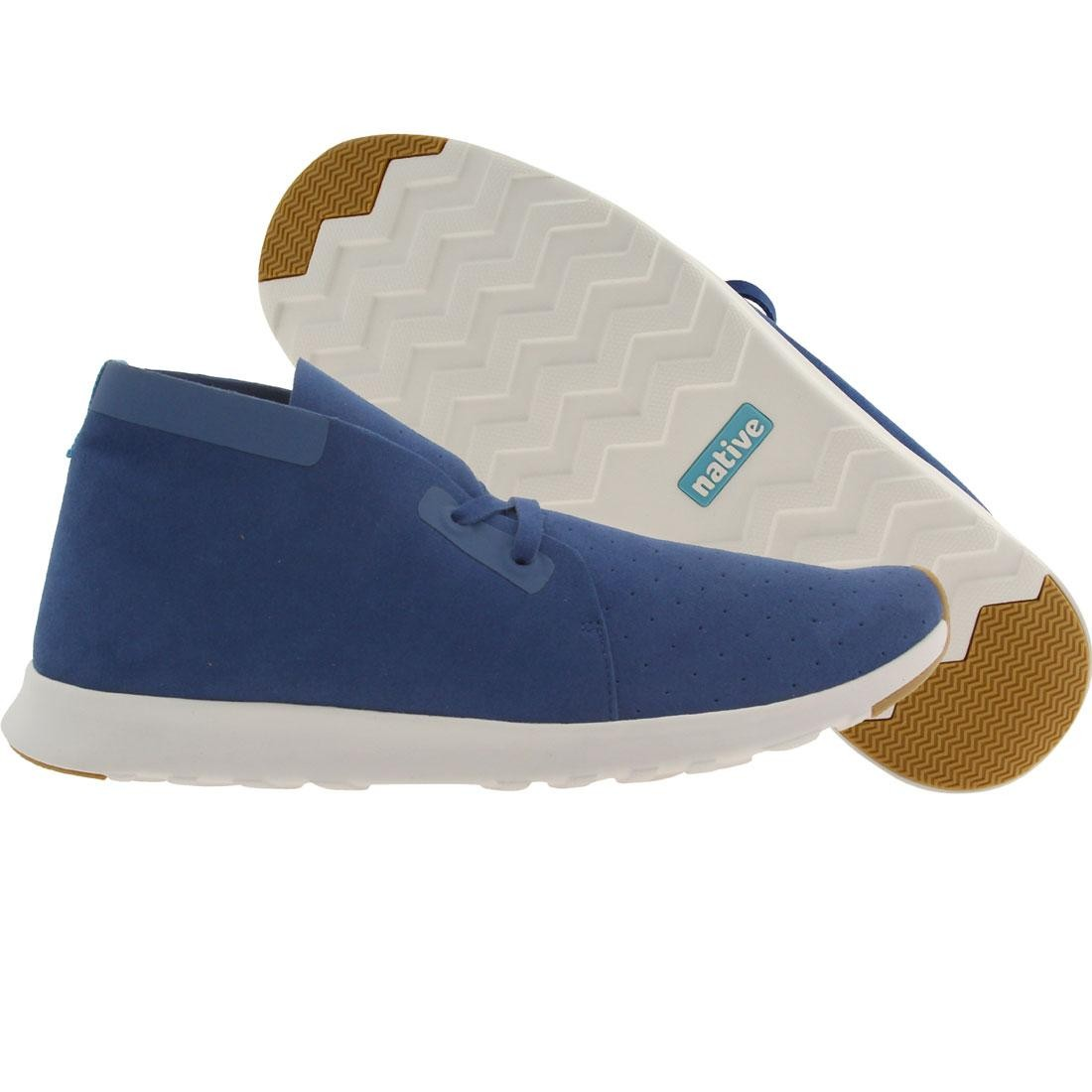【海外限定】ネイティブ チャッカ シェル スニーカー メンズ靴 【 SHELL NATIVE MEN APOLLO CHUKKA BLUE VICTORIA WHITE 】
